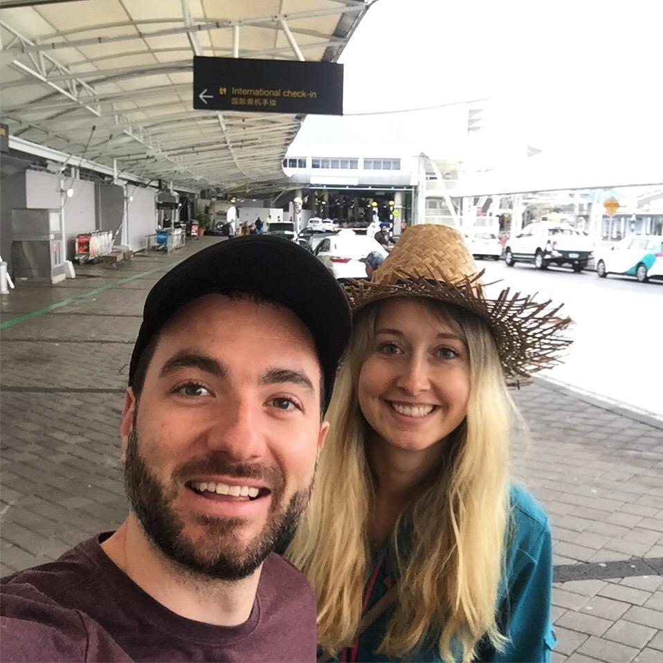 Poslední společné foto na Zélandu
